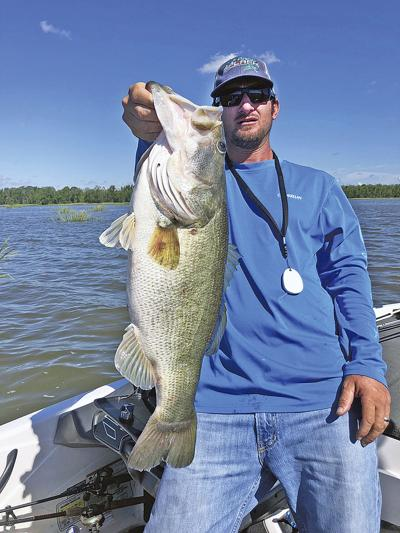 Branch angler adds 8.82-pound bass to list of giants at the lake
