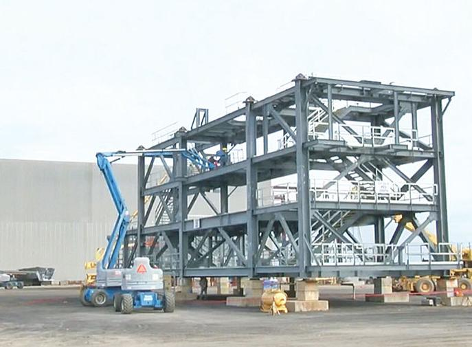 Dynamic Industries starts shipping first of 92 modules to Pa.