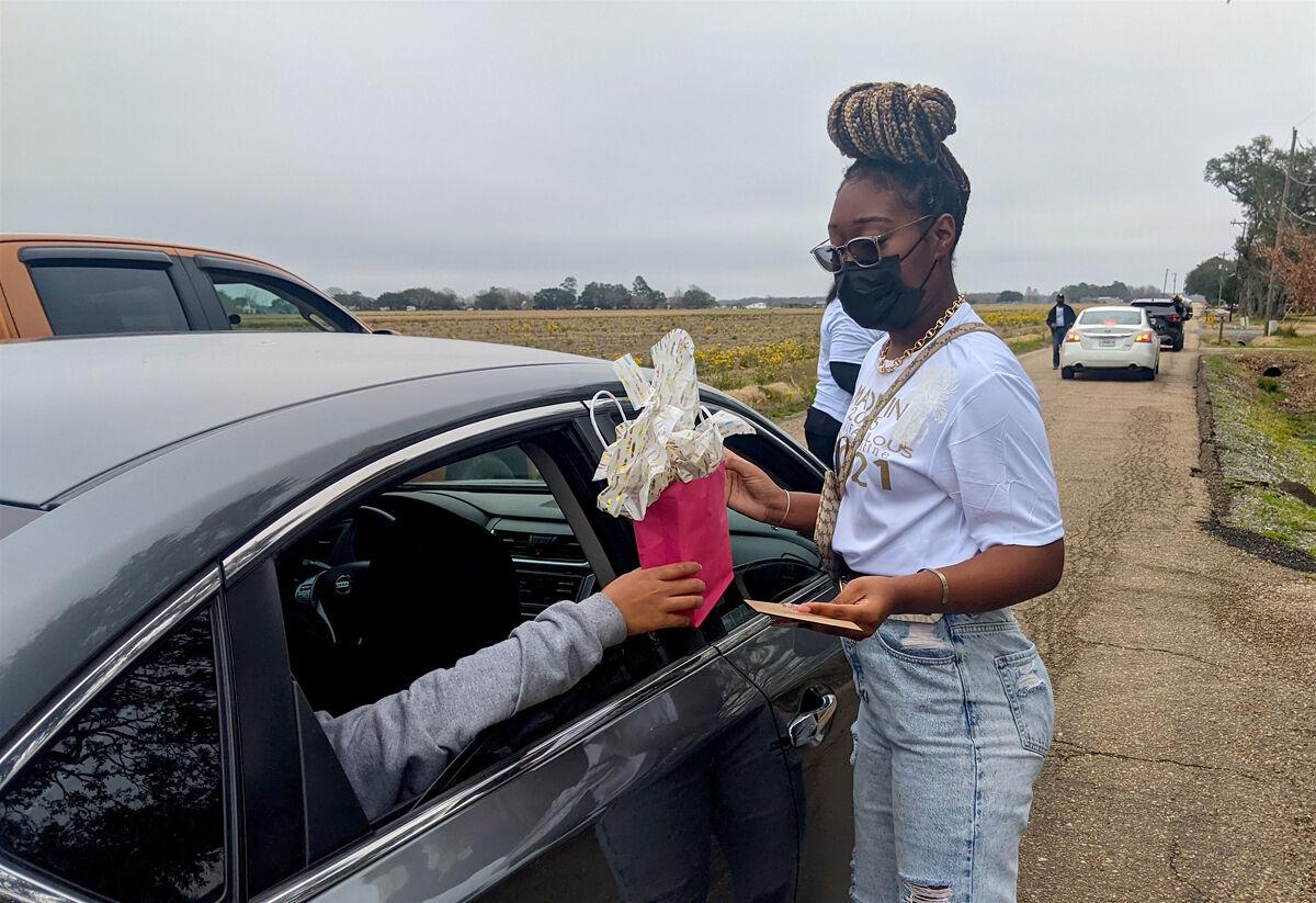 Sweet 16 birthday celebrated with drive-by party