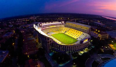 LSU sets preliminary ticket and seating plans