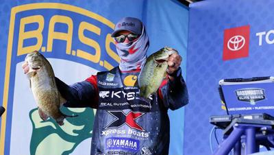 Sumrall wraps up stay in New York at Bassmaster Elite Series at Lake Champlain