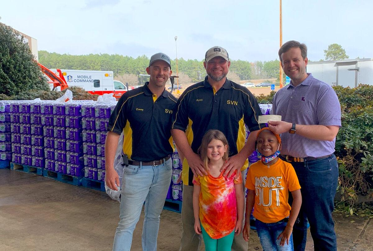 Local community raises funds to help N. La. relief efforts
