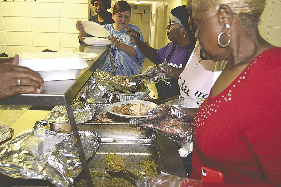 Local Pastors Come Together For Thanksgiving Feeding