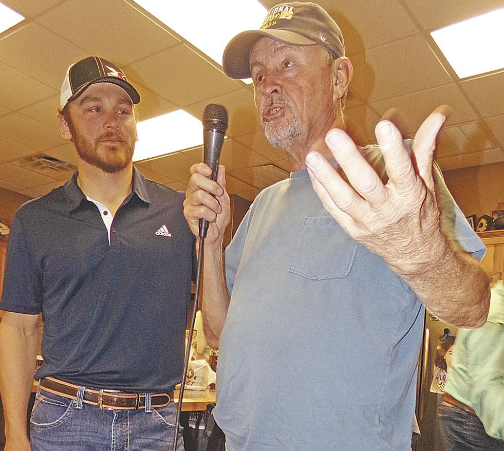 Sumrall appreciates Haney's fundraiser as he preps for 2020