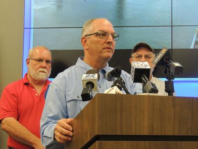 Gov. John Bel Edwards says Tropical Storm/Hurricane Barry could create need for search & rescue operations