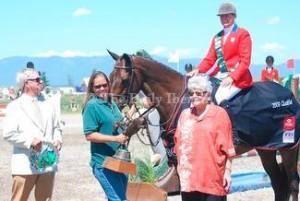 Jeanerette native started national equestrian group