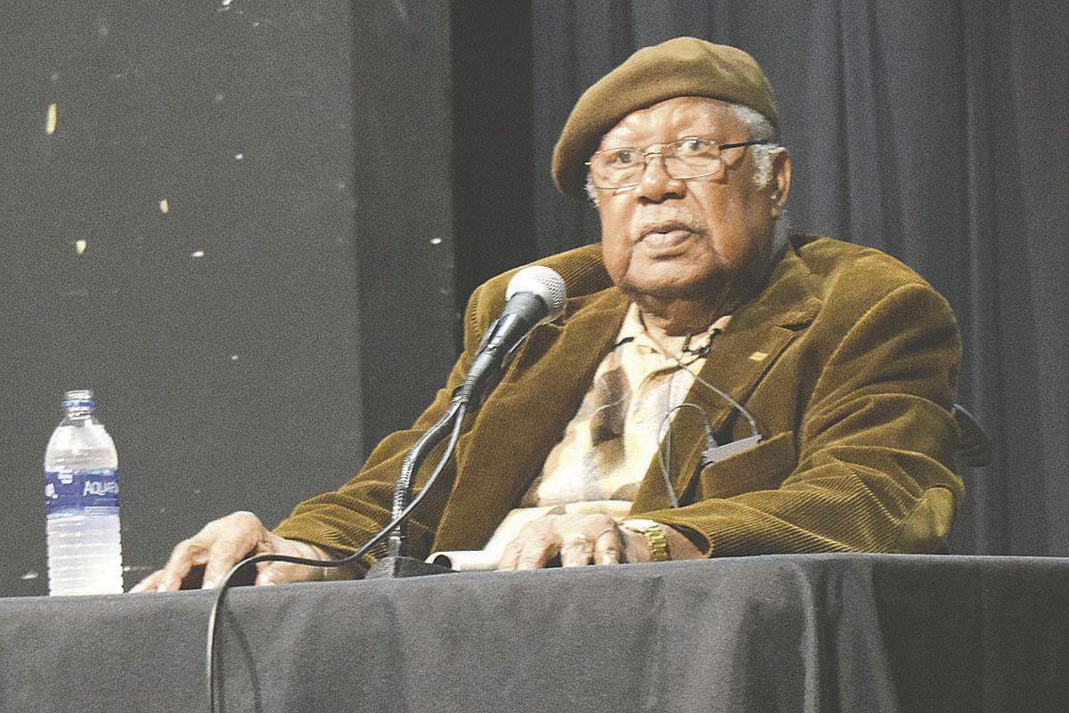Fans flock to festival to hear Gaines speak
