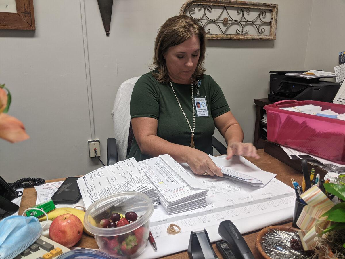 Absentee ballots being sent out to voters