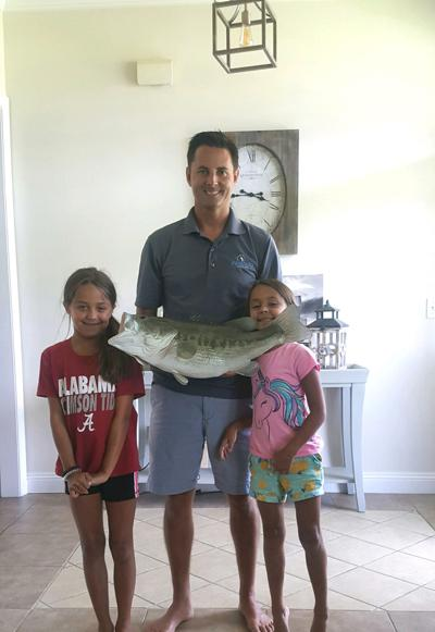 Beautiful replica mount of 9.21-pound bass Verret caught in lake pleases Alabama angler