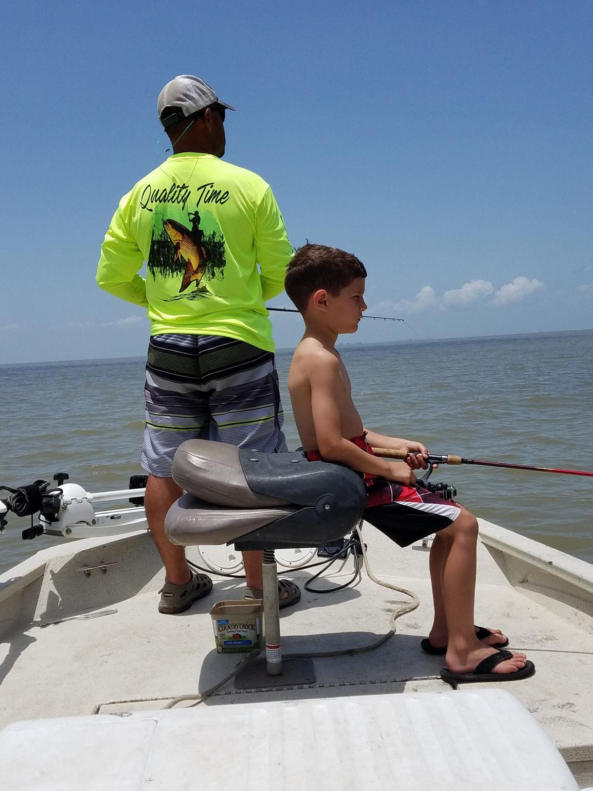 'Quality Time' takes precedence for St. Germain's fishing family