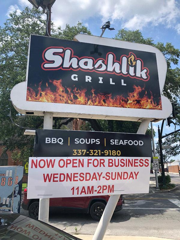 Surprise at Shashlik