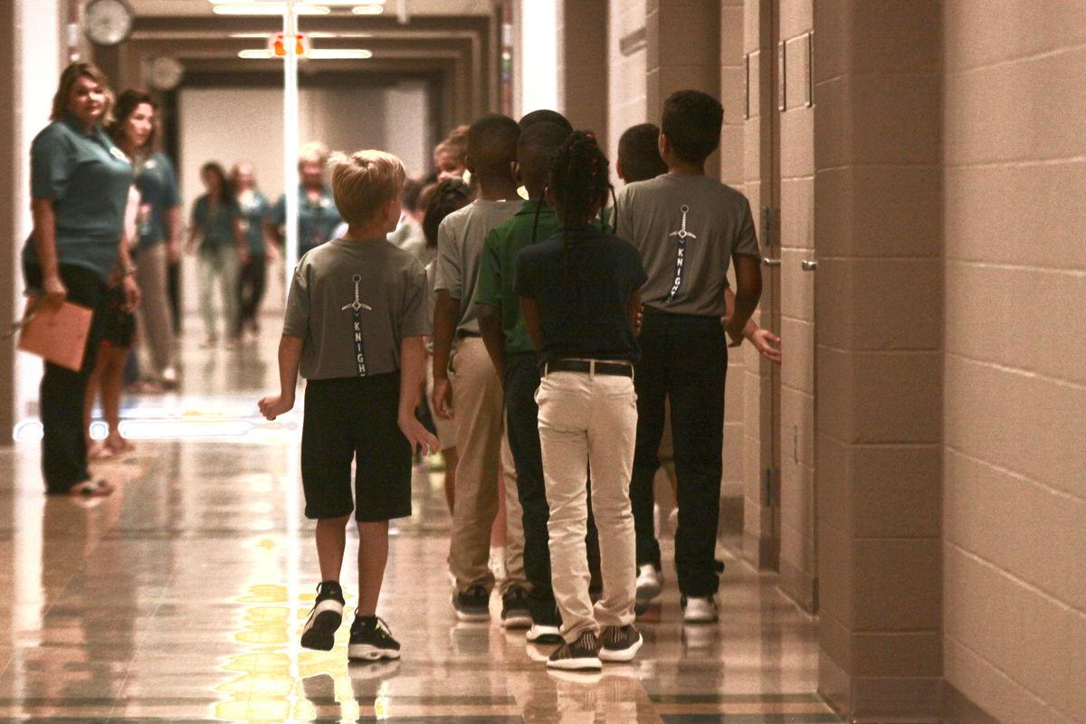 Belle Place Elementary marks its first day of school, ever