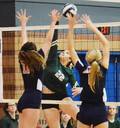 Highland Baptist fall in semifinals in four sets