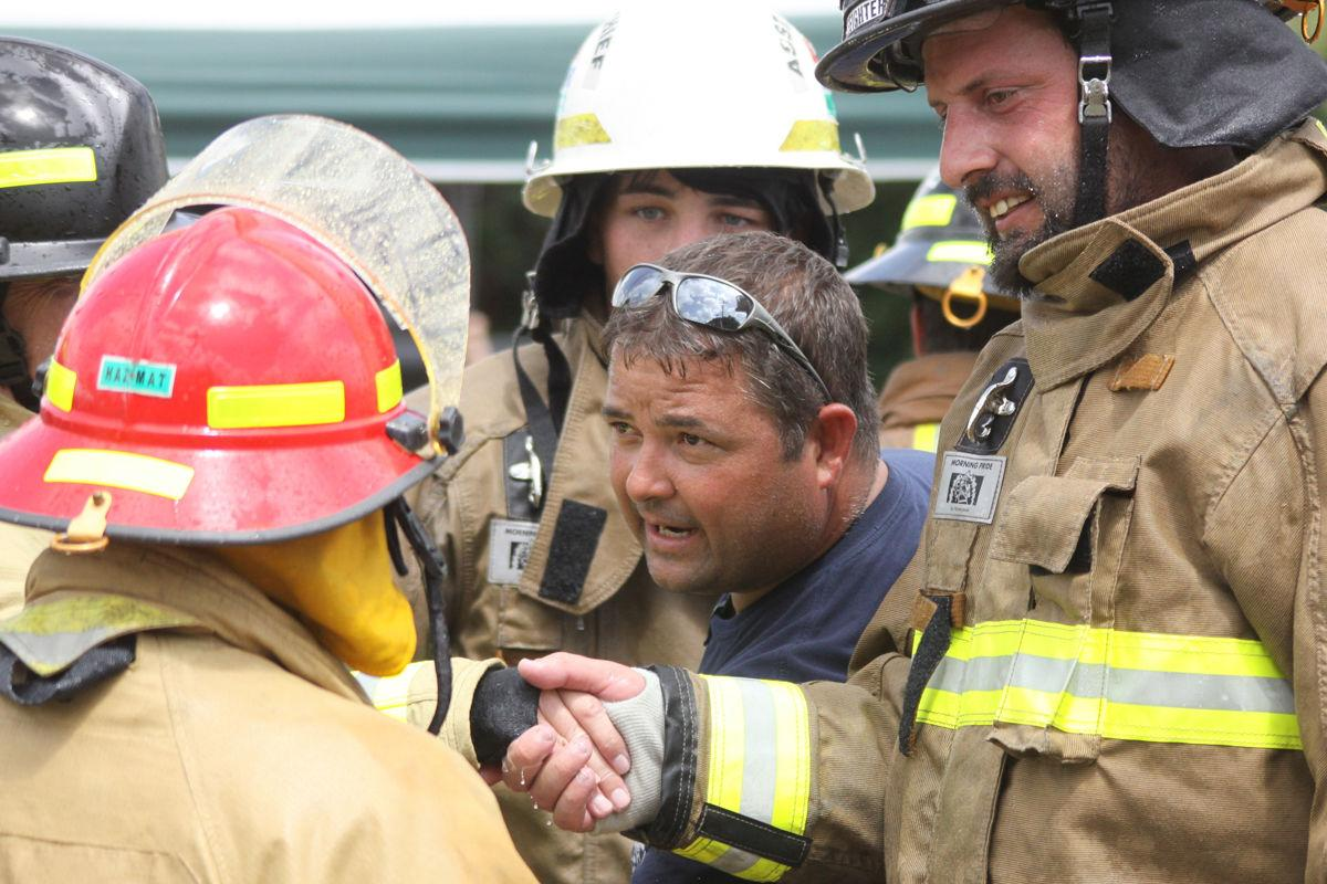 Fire Department Water Fights make for hot, wet, fun day in Erath