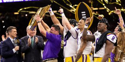 Records continue to fall for Burrow as LSU claims the National Title