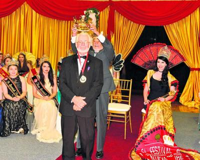 Former Spanish Festival King, Segura, celebrated city's heritage