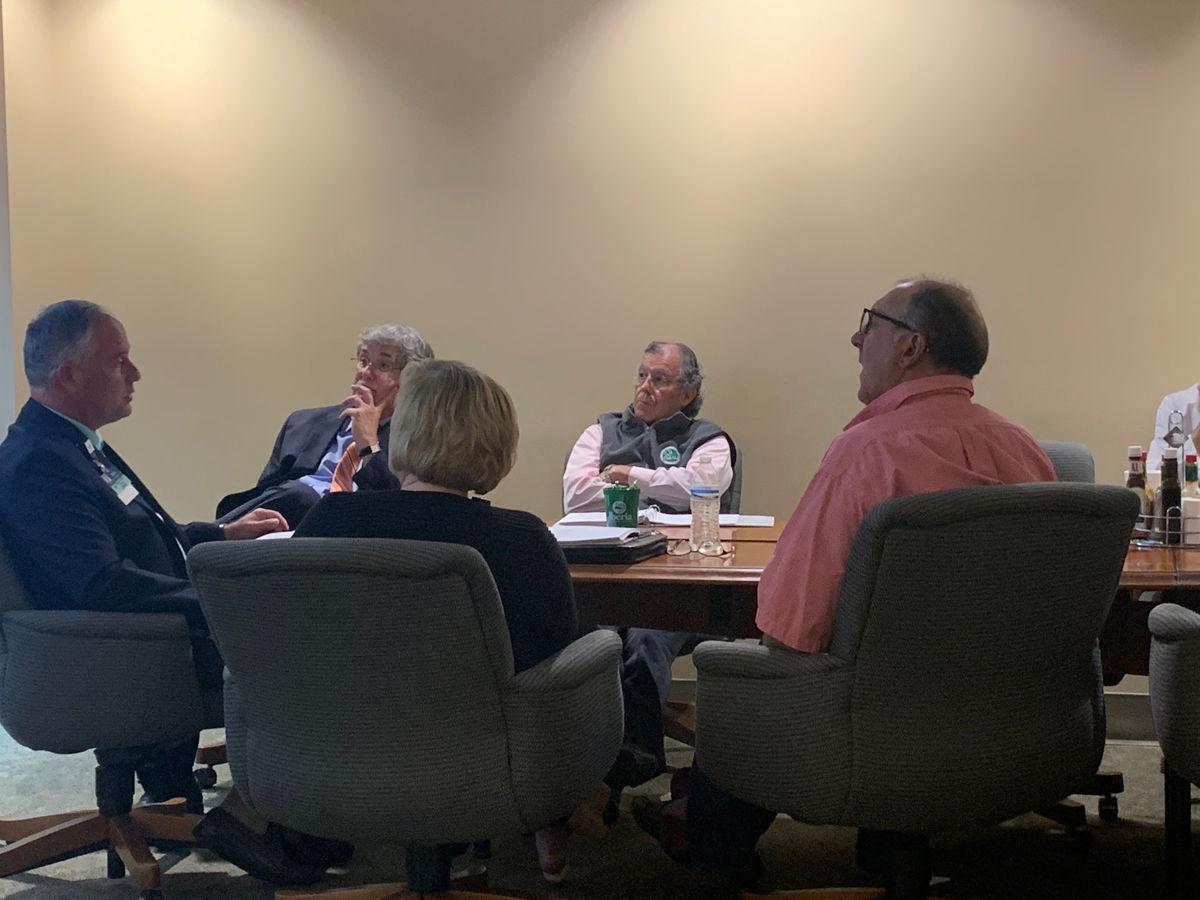 Hospital budget main subject of lowkey Iberia Medical Center board meeting