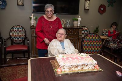 LeBlanc celebrates 100th birthday with family