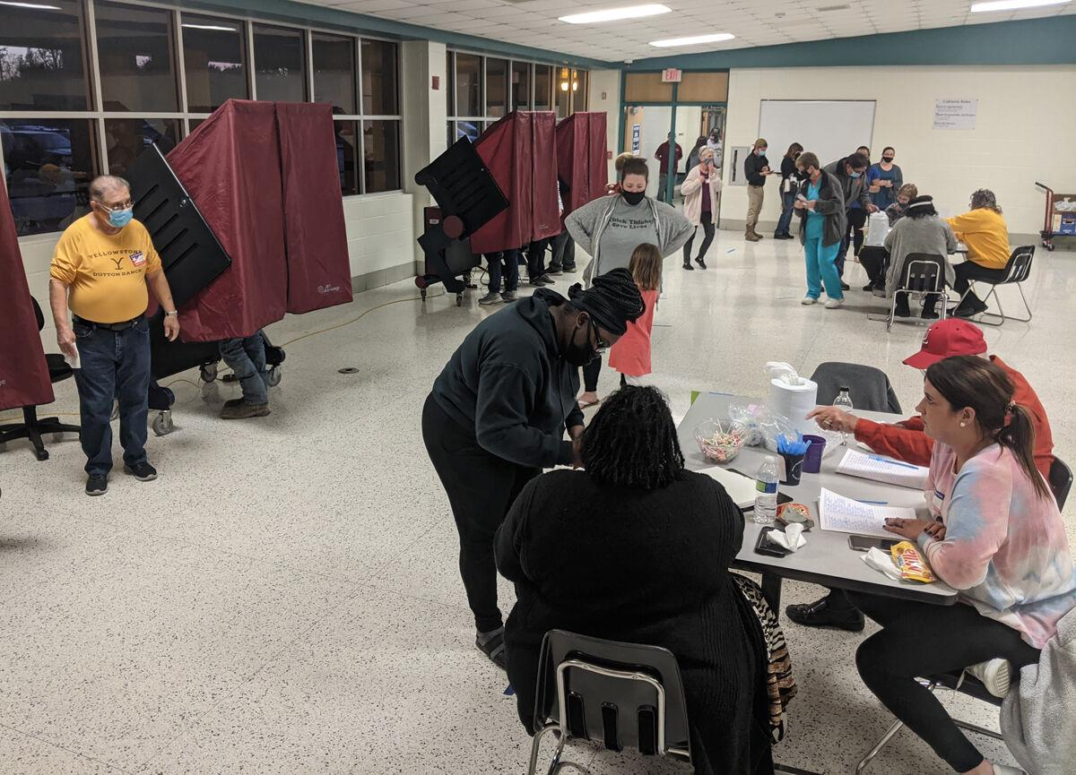 Voters make their choices in national, local races