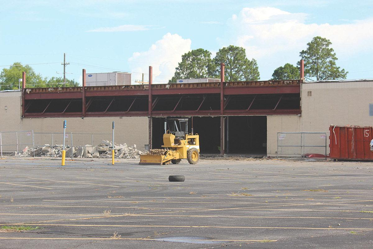 Work is underway at the old KMart site