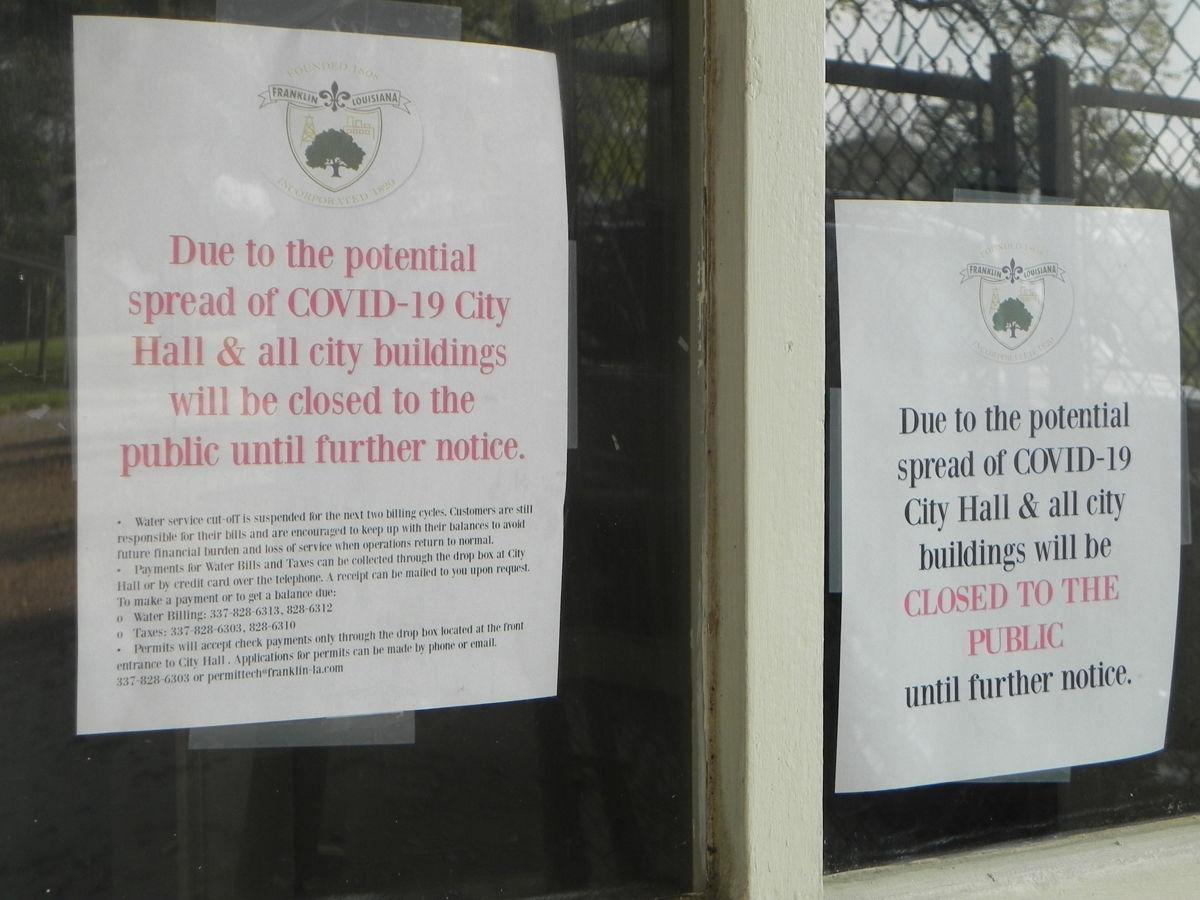 Franklin Mayor issues directives in wake of coronavirus threat