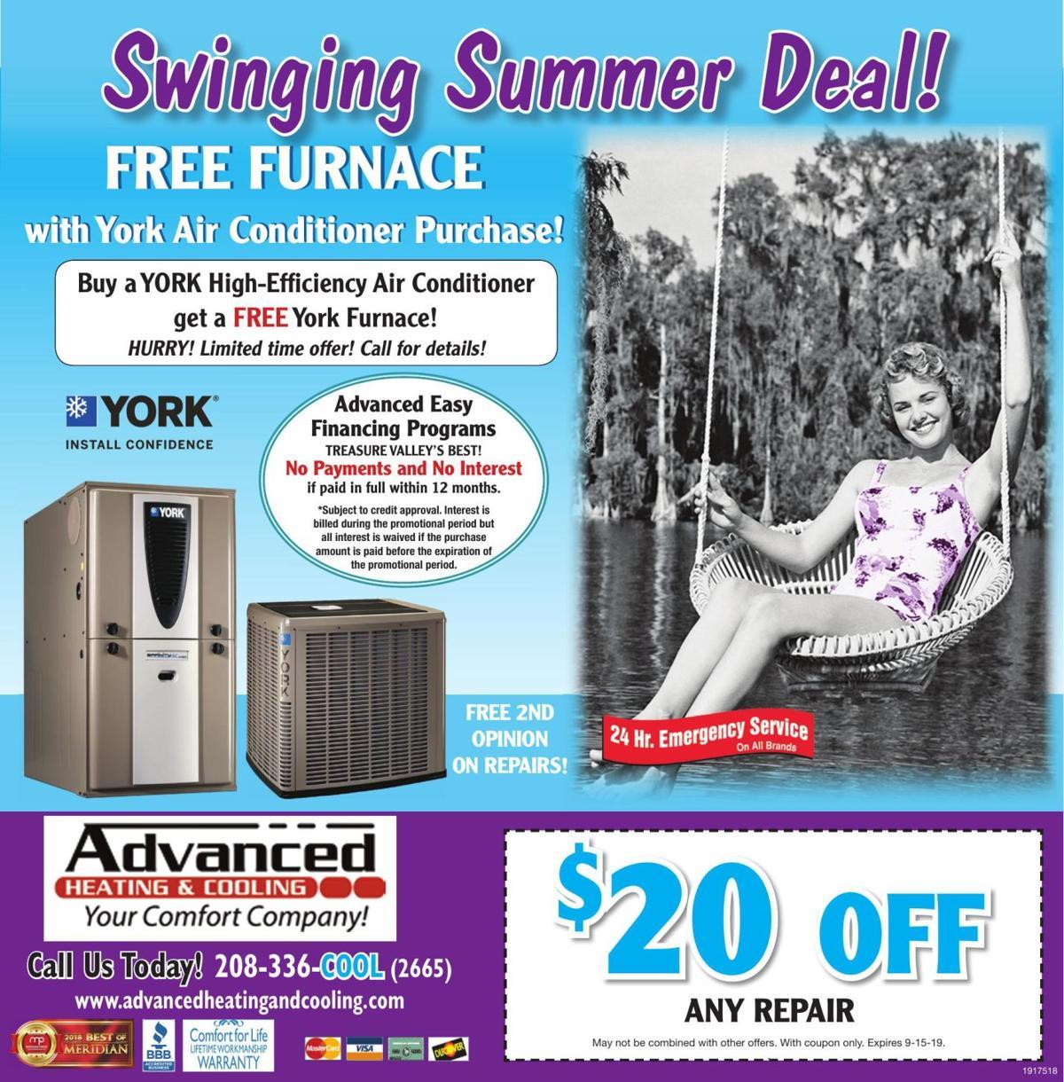 Swinging Summer Deal!