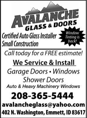 Avalanche Glass & Doors
