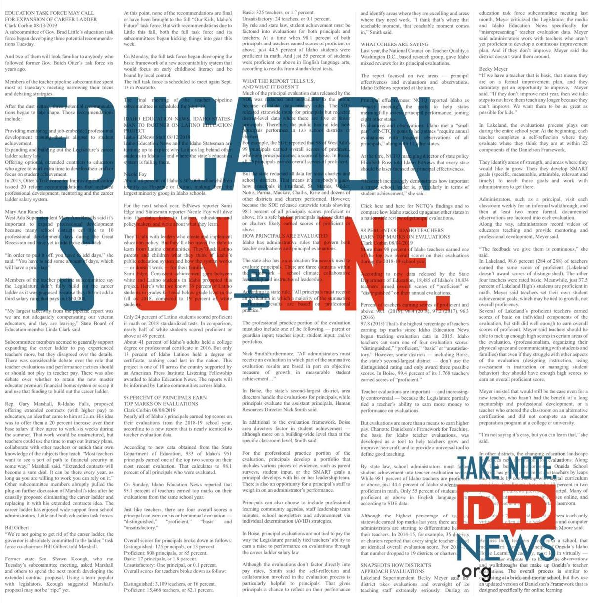 Education is on the line