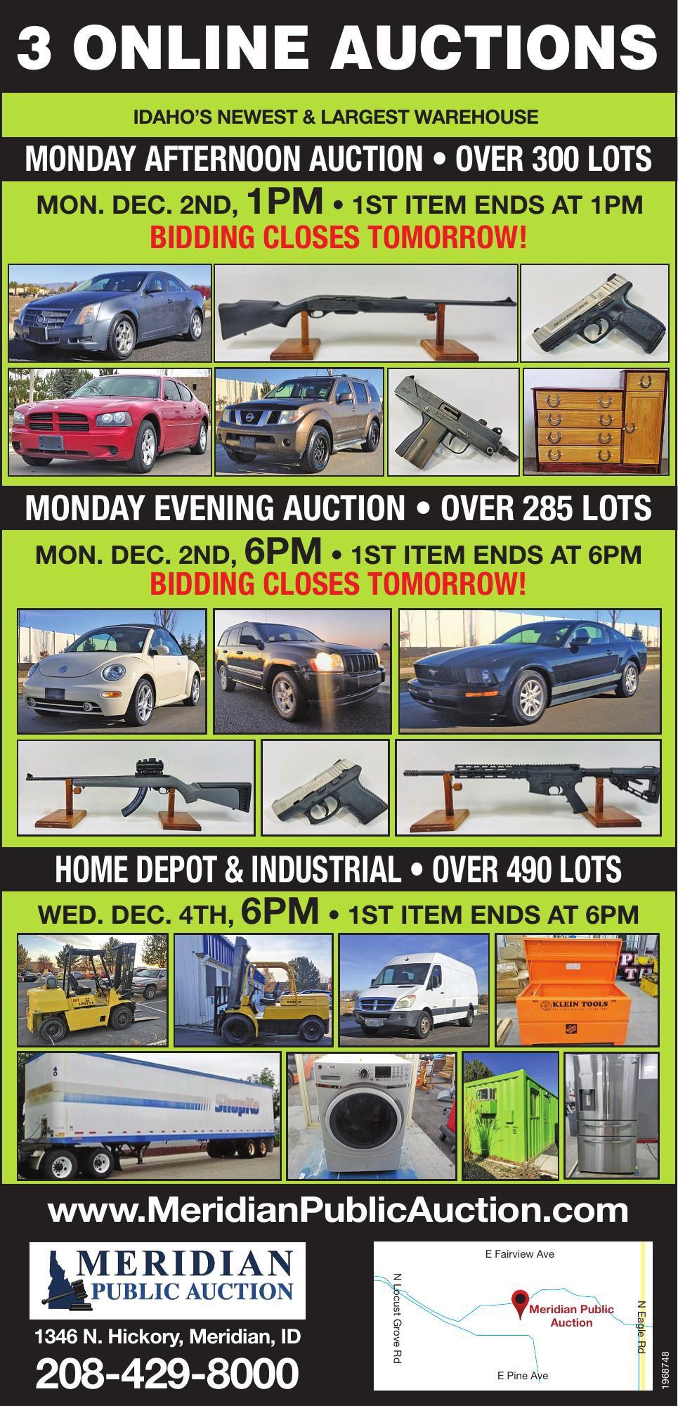 Meridian Public Auction
