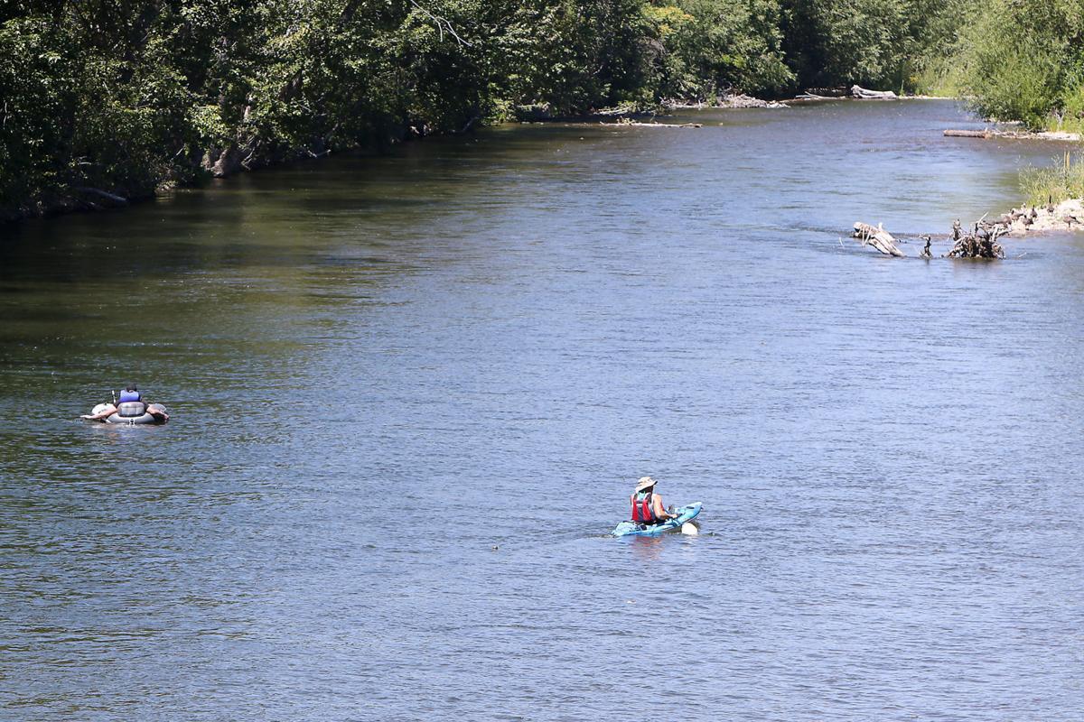 Bosie River activity