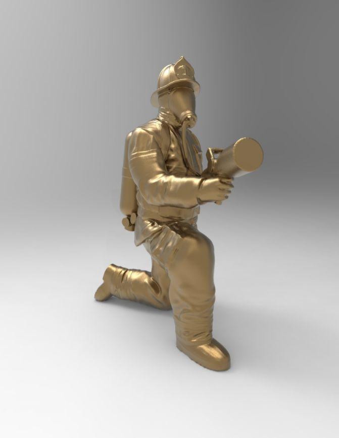Daniel Borup firefighter