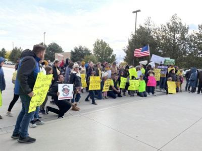 West Ada protest