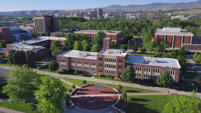 Boise State University overview campus photo