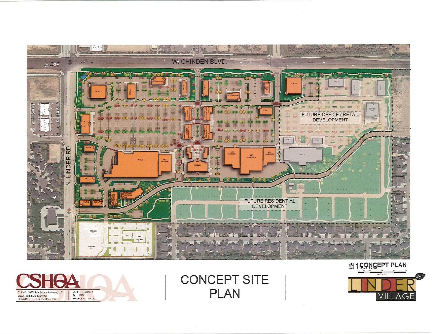 Linder Village submits revised plans, WinCo Foods is on board | Idaho Press