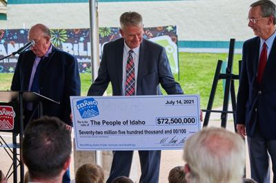 Idaho Lottery dividend photo 7-14-21
