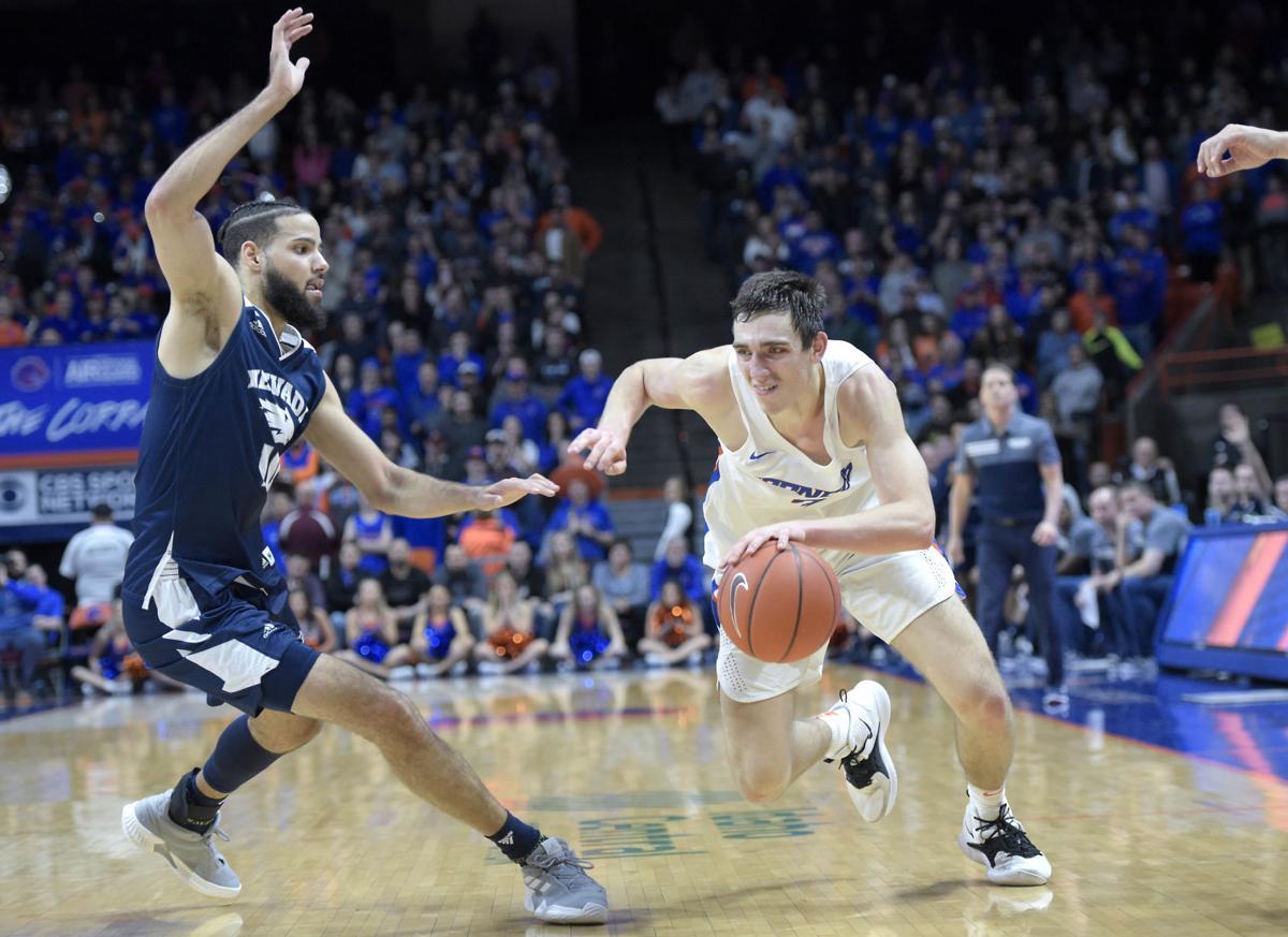 Boise State vs Nevada Basketball