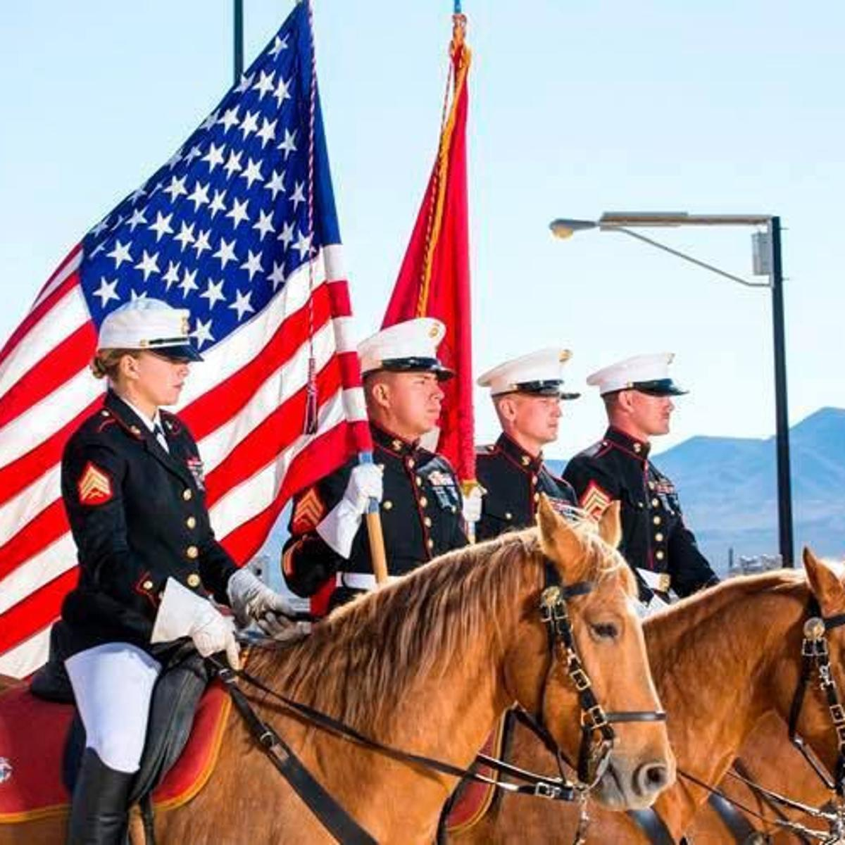 U S  Marine color guard to present flags at Caldwell Night Rodeo