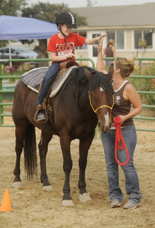 Sun River Ranch kids and horses bond at kuna ranch | members | idahopress