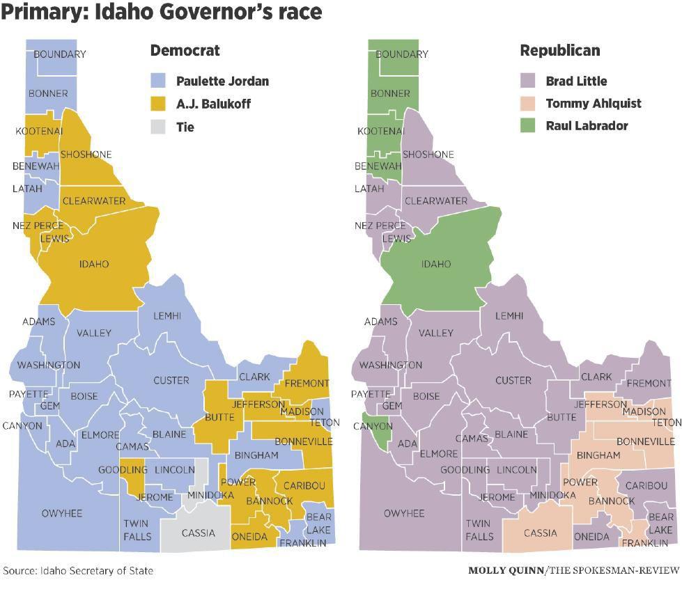 Idaho Governors Race Primary Idahopresscom