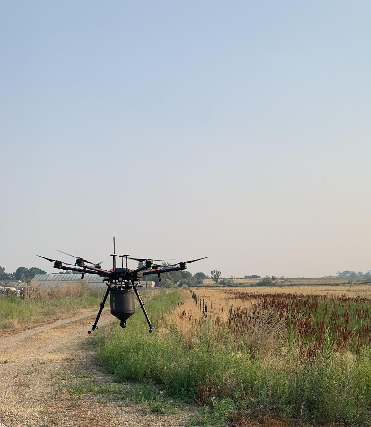 UAV in use in Canyon County