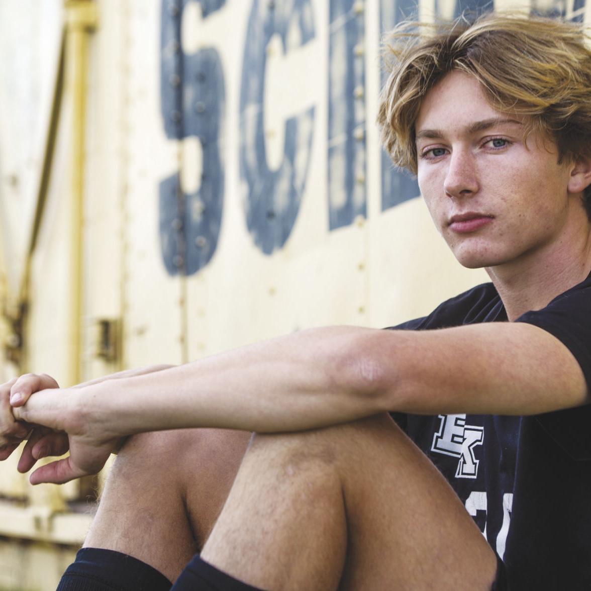 Prolific scorer Colton Crawford has helped lead resurgence of Bishop Kelly boys soccer program