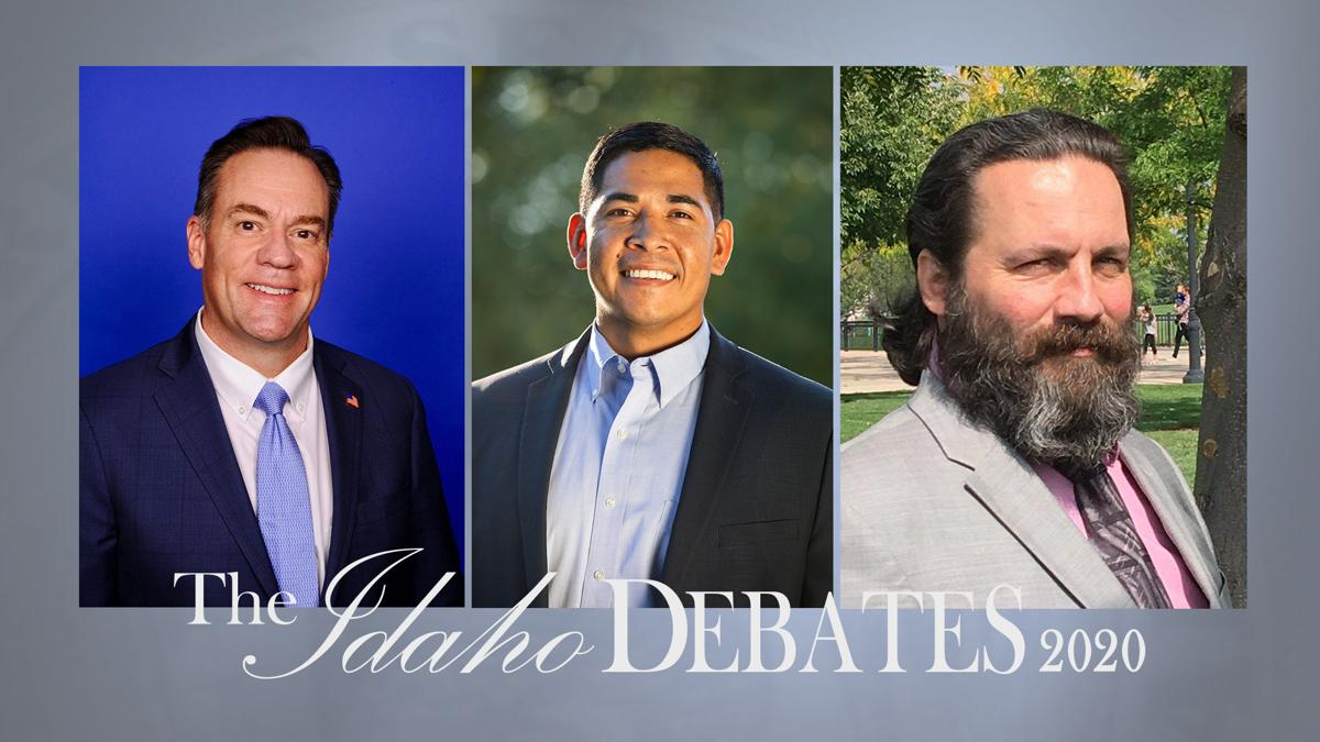 Idaho Debates 1st CD candidates with logo (copy)