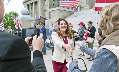 Lt. Gov. Janice McGeachin announces run for Governor