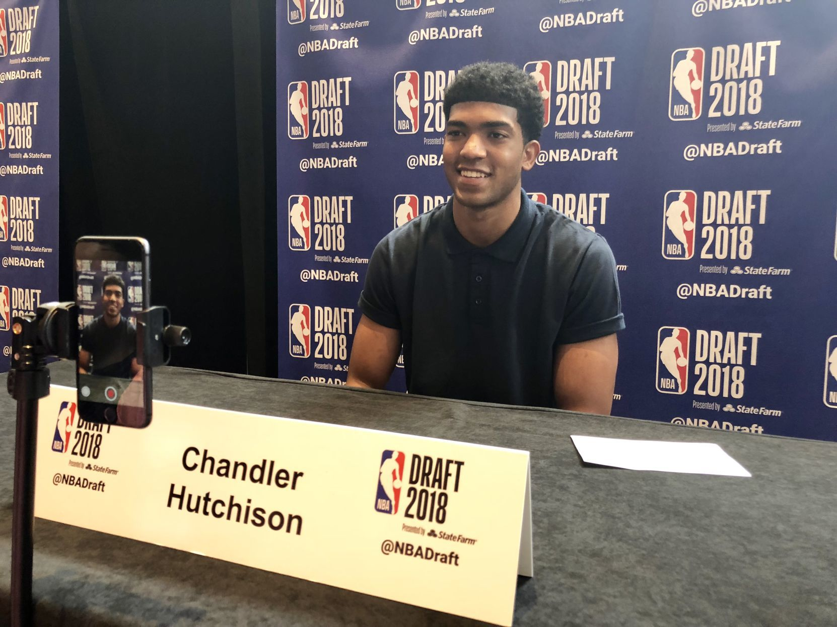 HISTORY AWAITS: Chandler Hutchison ready to become a first round NBA Draft pick Thursday - the first ever at Boise State | Idaho Press