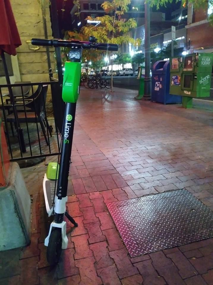 Residents Express Concerns Over Electric Scooter