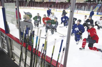 Idaho Steelheads practice