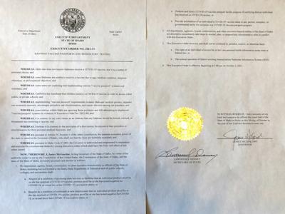 Image of McGeachin executive order