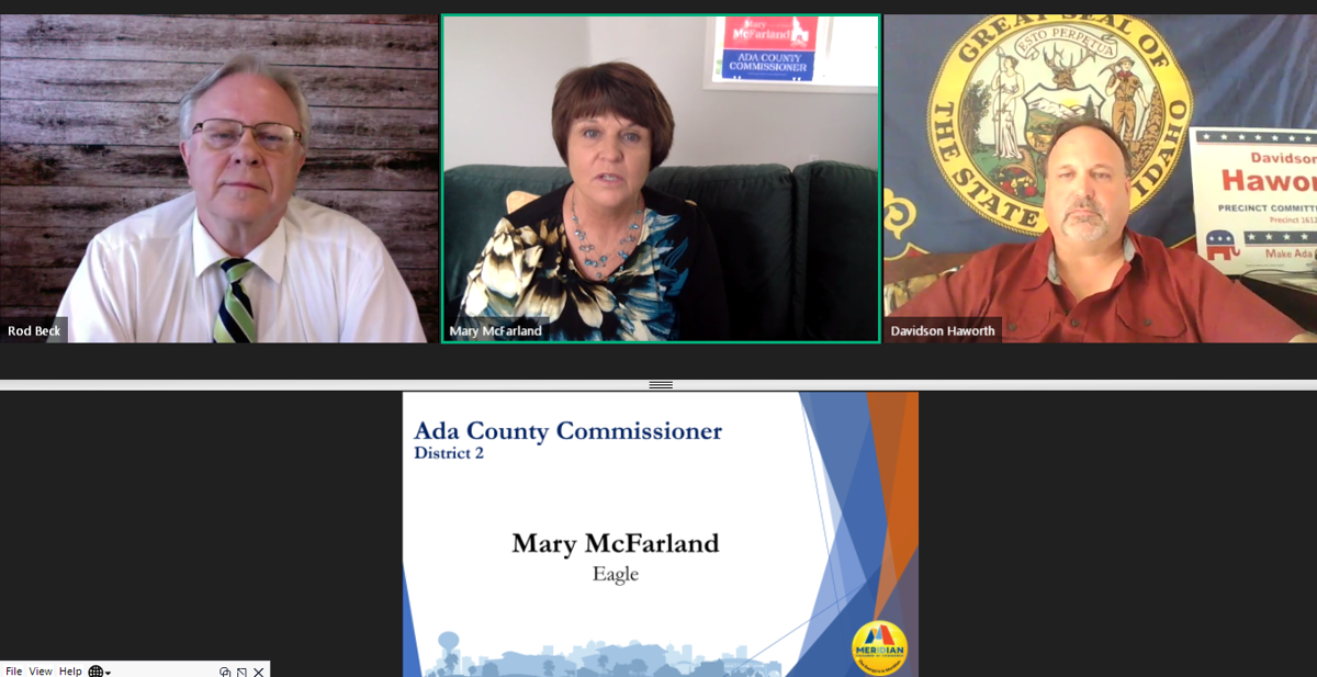 Meridian candidates talk property taxes, managing growth in virtual forum; Link to video