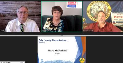 Meridian virtual candidate forum