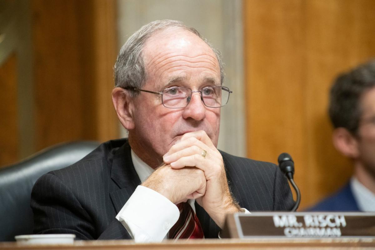 Jim Risch DC presiding over Foreign Relations hearing